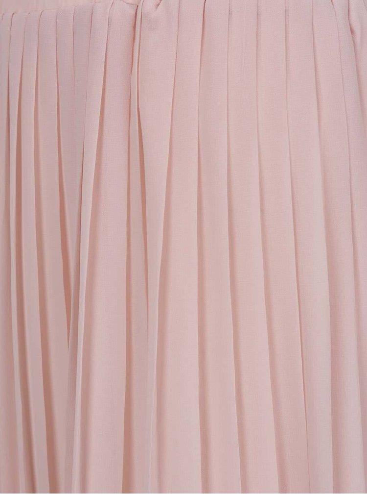 Fusta plisata roz pal Broadway Callie