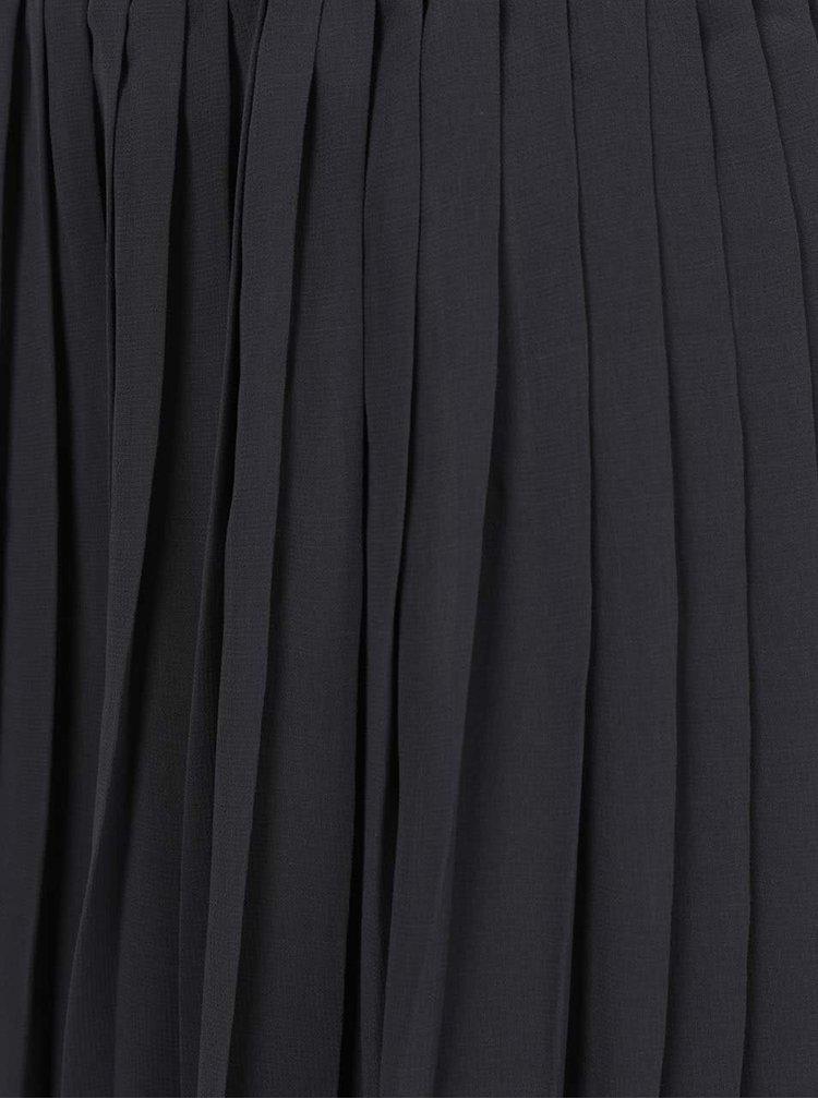 Fustă plisată neagră Broadway Callie