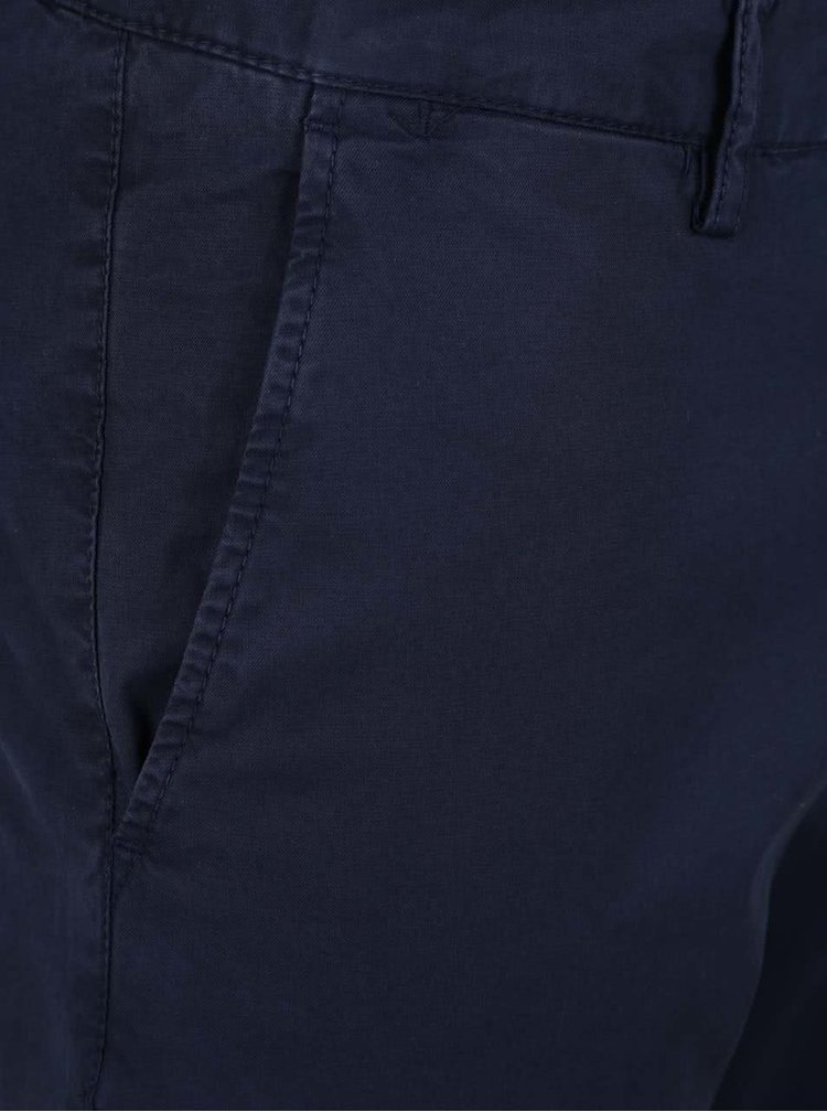 Tmavě modré pánské chino kalhoty GANT Summer