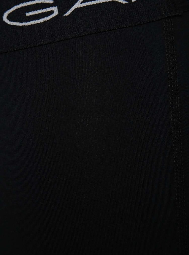 Sada dvou boxerek v černé a bílé barvě GANT Trunk