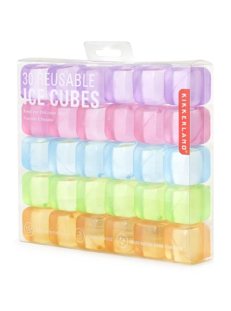 Set cuburi de gheață colorate Kikkerland