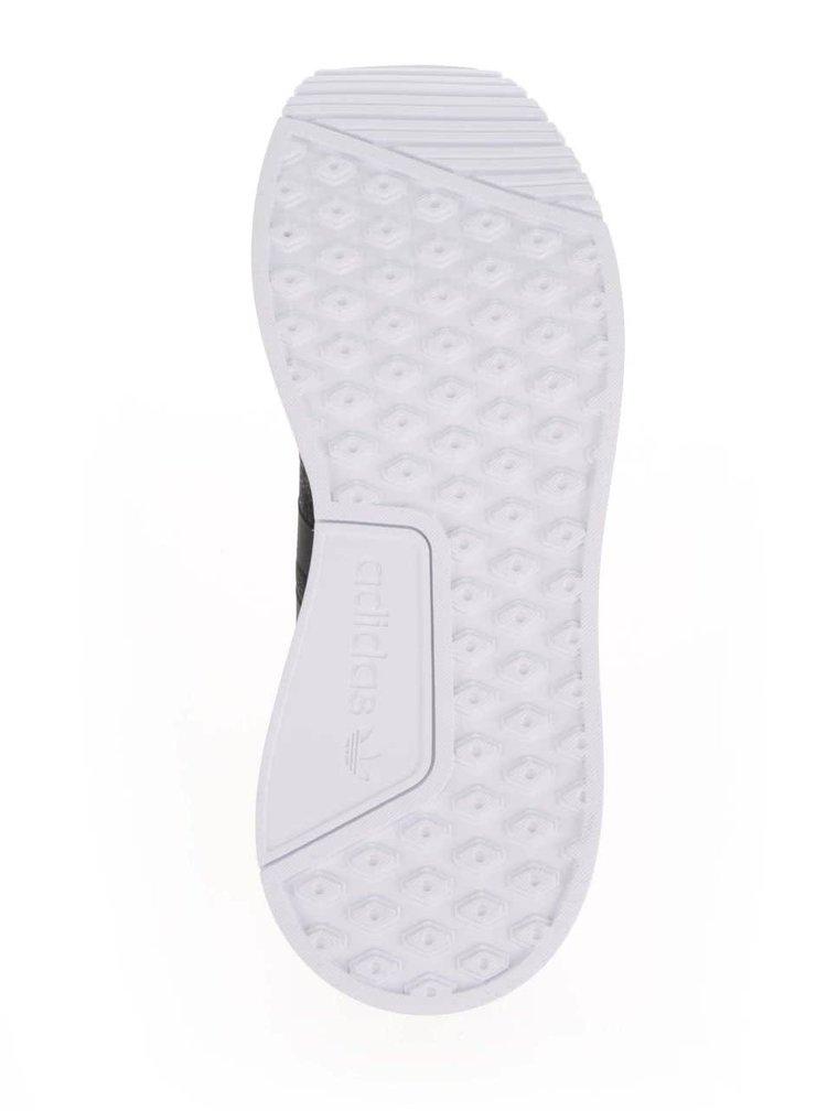 Černo-bílé žíhané pánské tenisky adidas Originals X