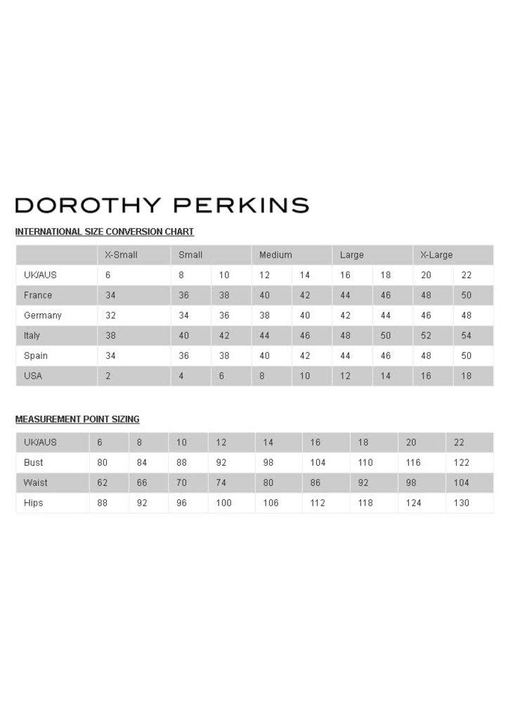 Šedý svetr s všitou džínovou košilí Dorothy Perkins