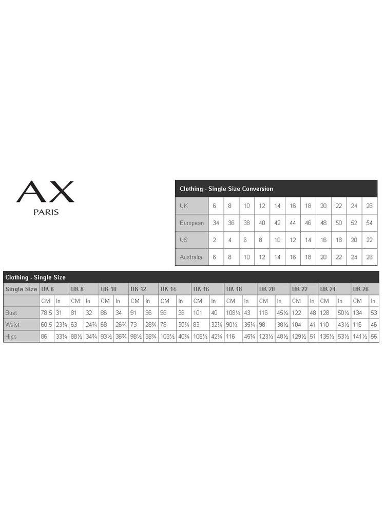 Tmavomodré maxišaty s flitrami AX Paris