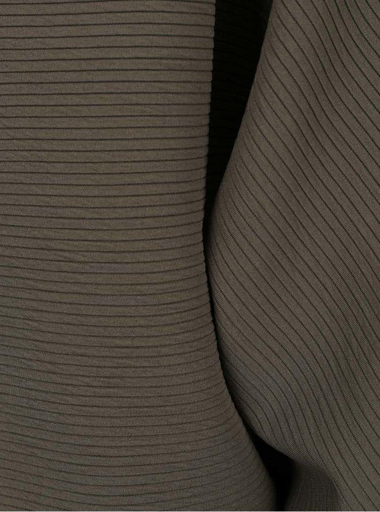 Khaki krátký kardigan Madonna Richelle