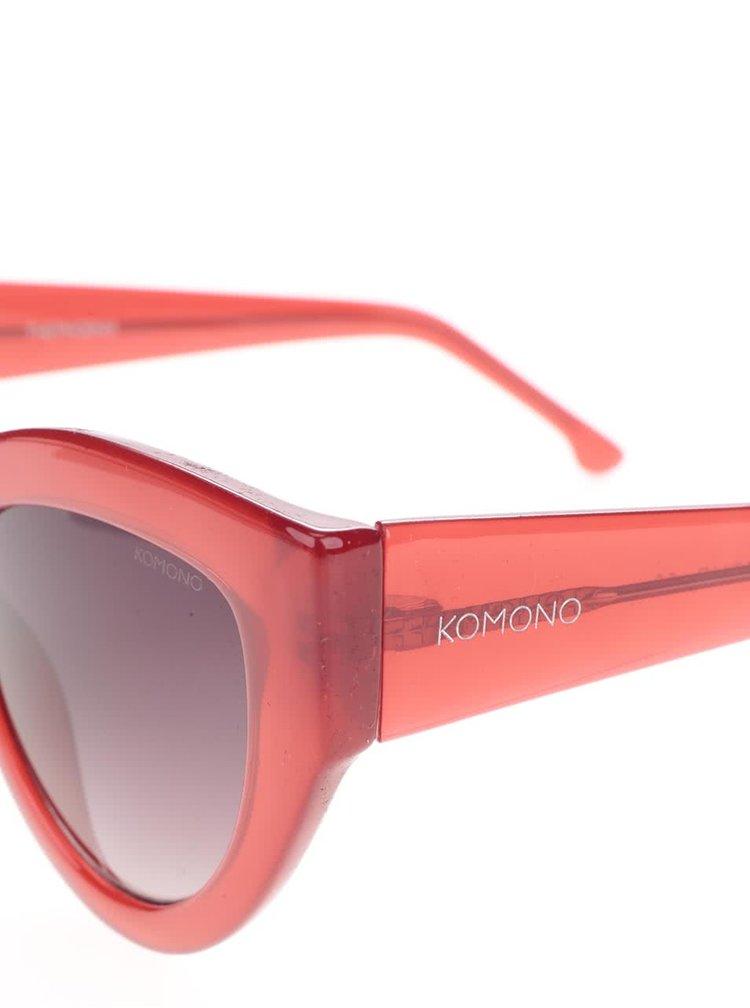 Červené dámské sluneční brýle Komono Phoenix