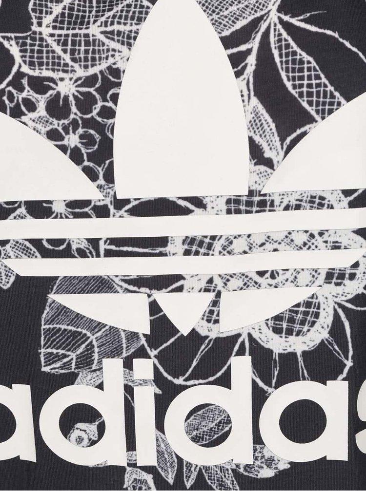 Tricou negru adidas Originals Florido