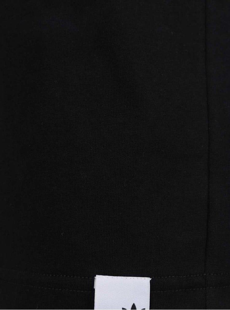 Černé pánské tričko s reflexním prvkem adidas Originals X By