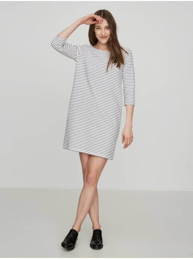 Modro-bílé pruhované šaty VERO MODA Ebru