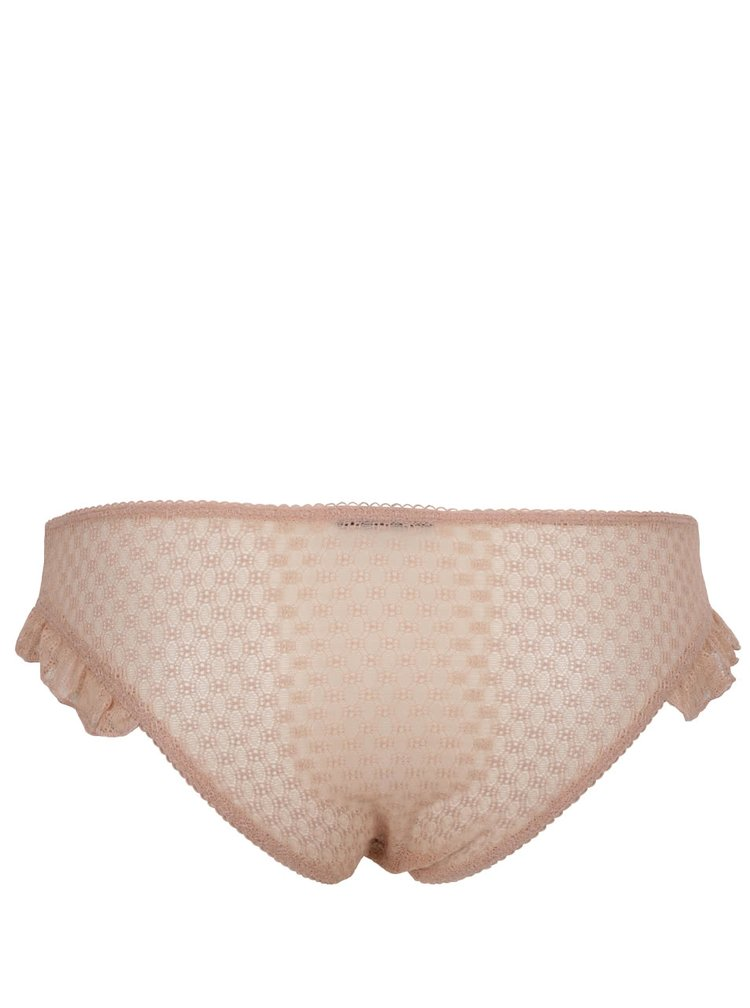Světle růžové kalhotky s volány Y.A.S Allie