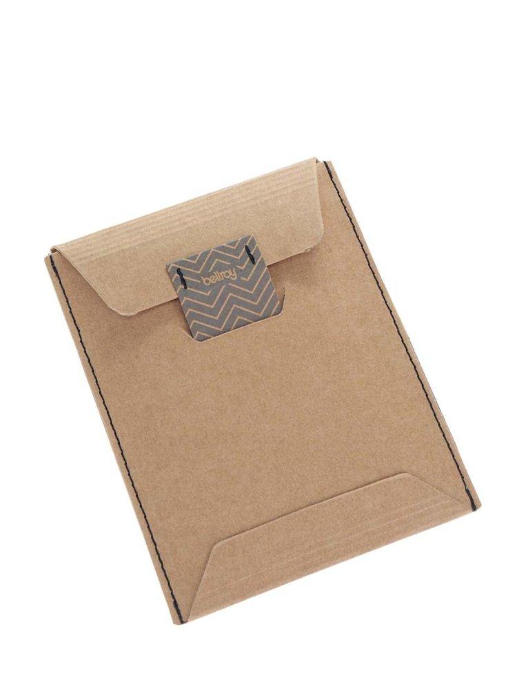 Šedá kožená peněženka Bellroy