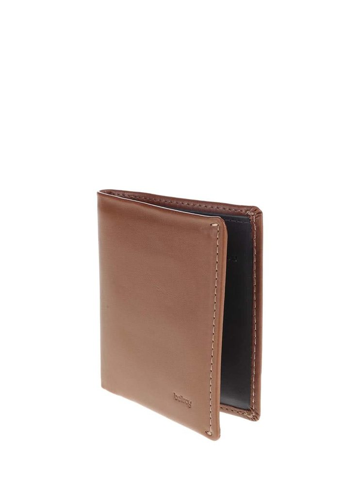 Hnědá pánská kožená peněženka Bellroy Note Sleeve