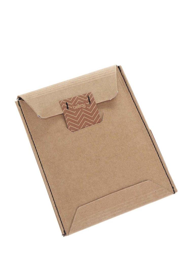 Hnedá pánska kožená peňaženka Bellroy Note Sleeve
