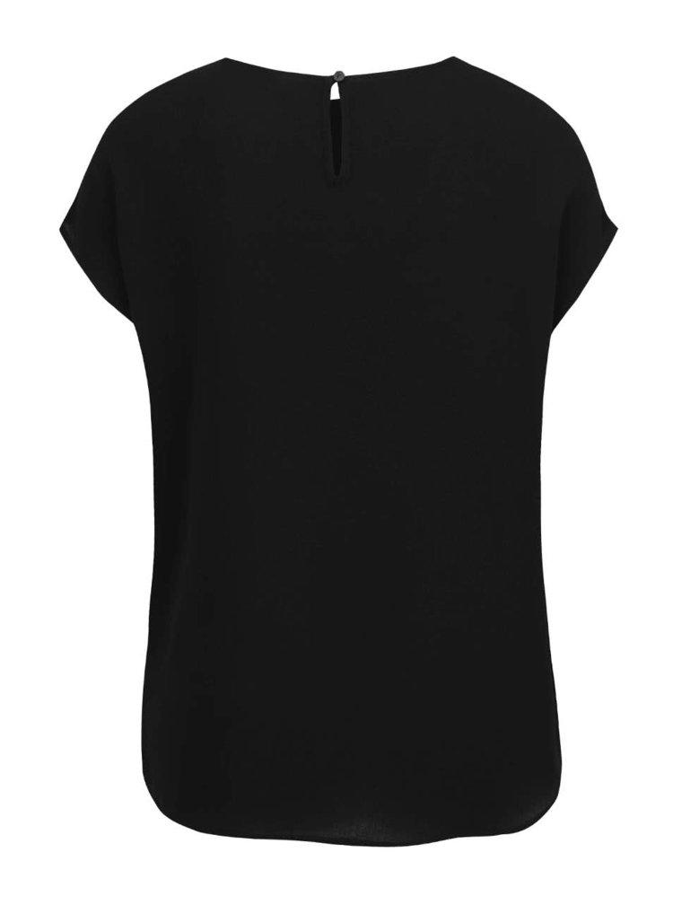Černá oversize halenka Jacqueline de Yong Chrissy