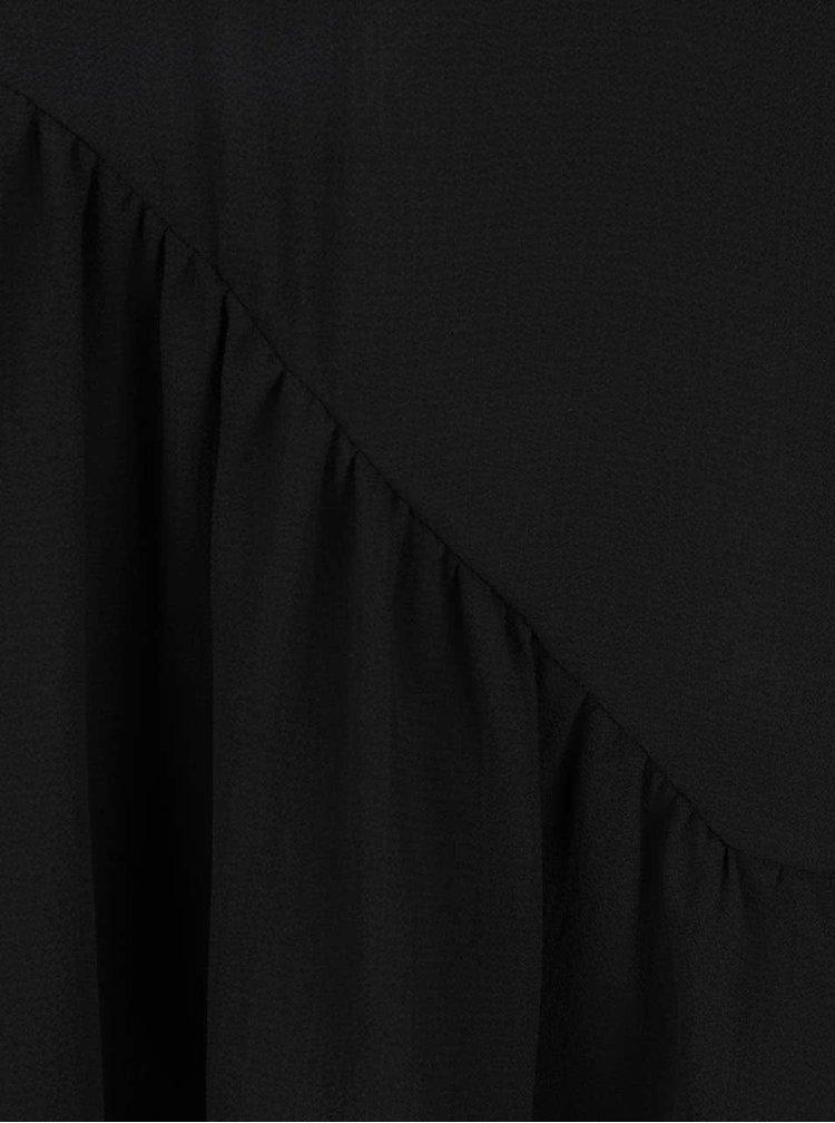 Top negru supradimensionat Jacqueline de Yong Chrissy cu detaliu