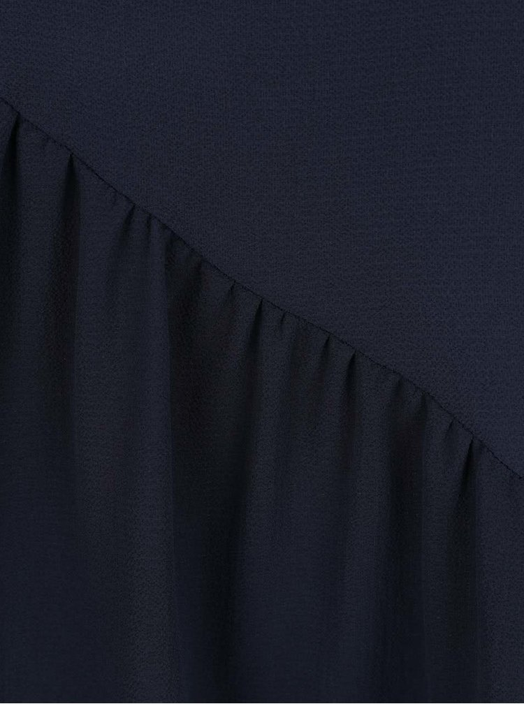 Top albastru inchis supradimensionat Jacqueline de Yong Chrissy cu detaliu