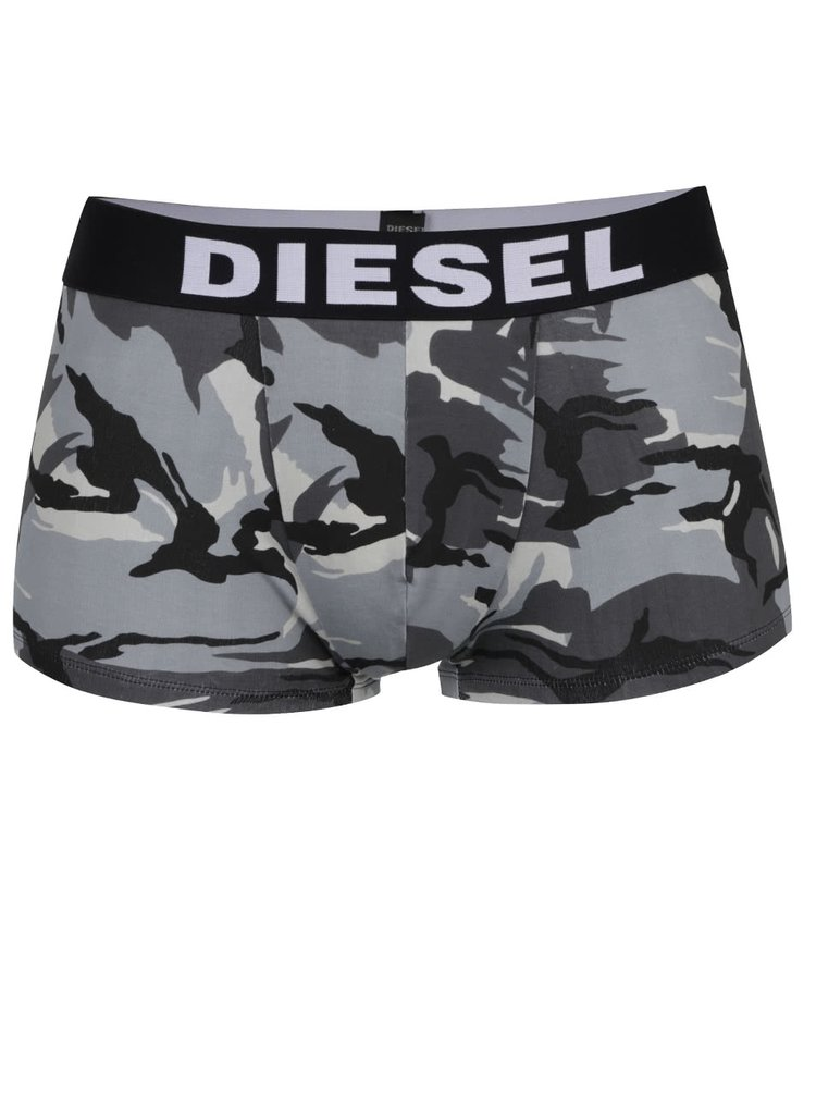 Sada tří boxerek v bílé, černé a šedé barvě Diesel