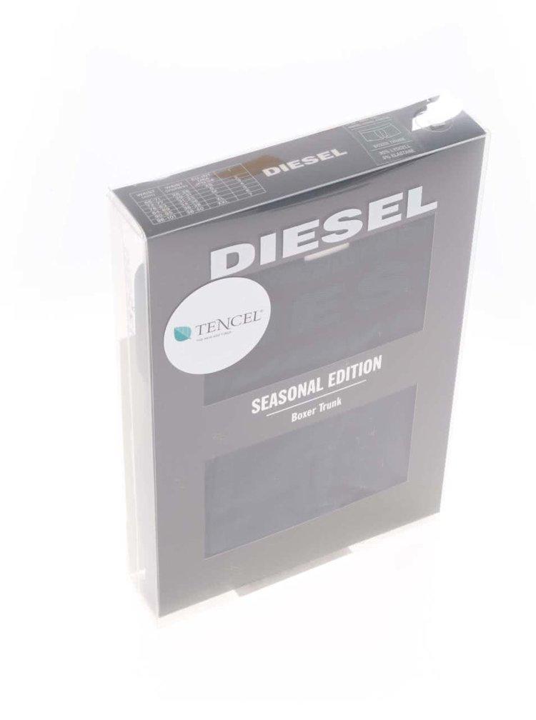 Boxeri bleumarin Diesel cu talie neagră