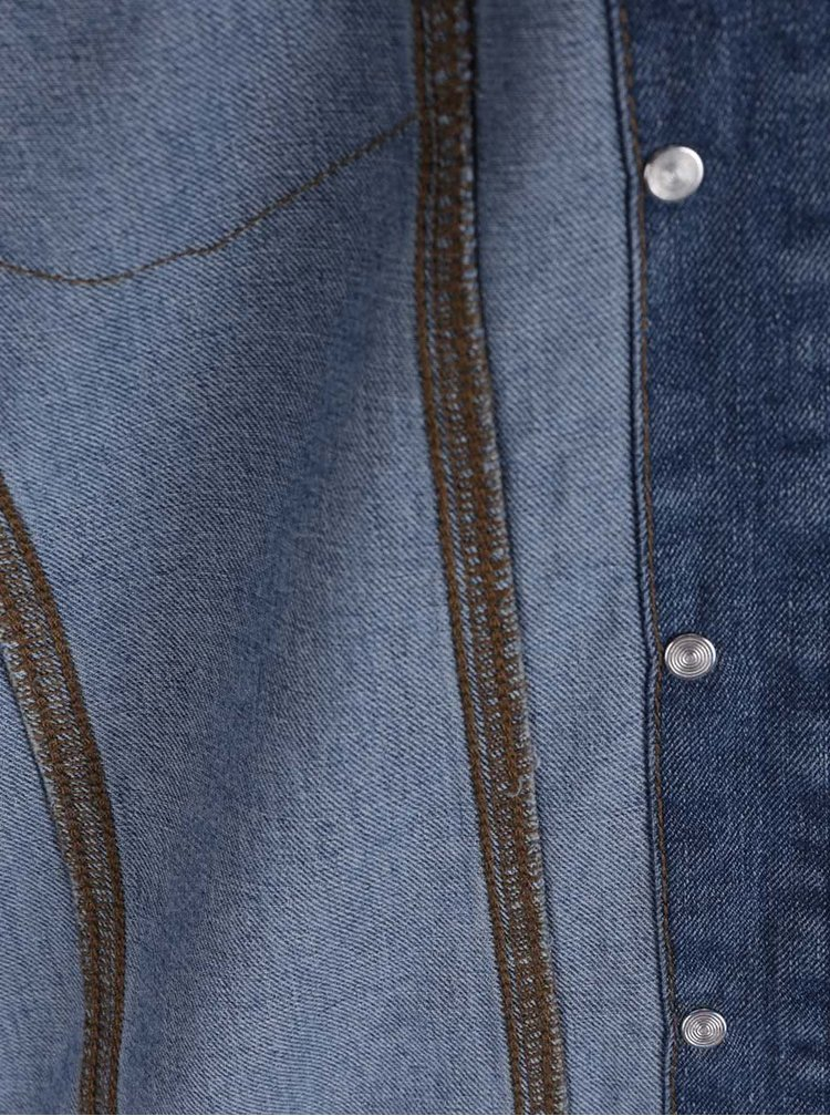Jachetă albastră Jacqueline de Yong Ashley din denim