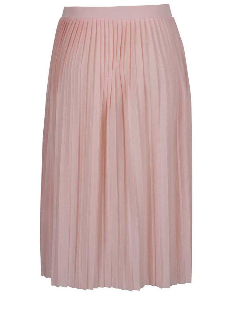 Světle růžová plisovaná sukně Haily's Fiona