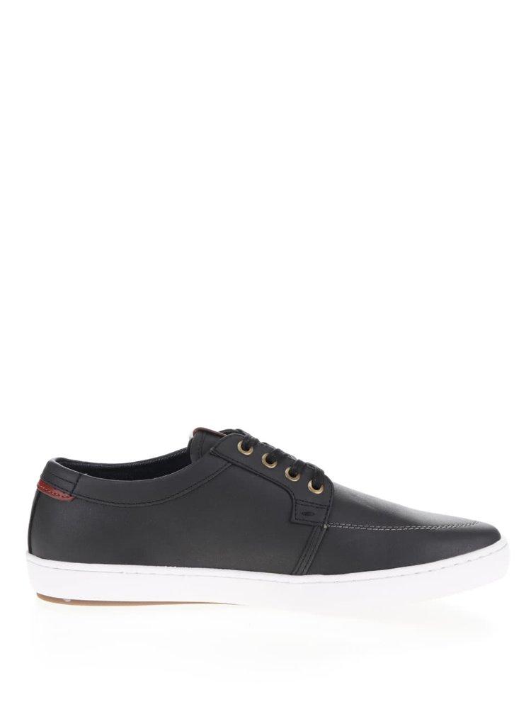 Pantofi negri ALDO Iberarien cu detalii în contrast