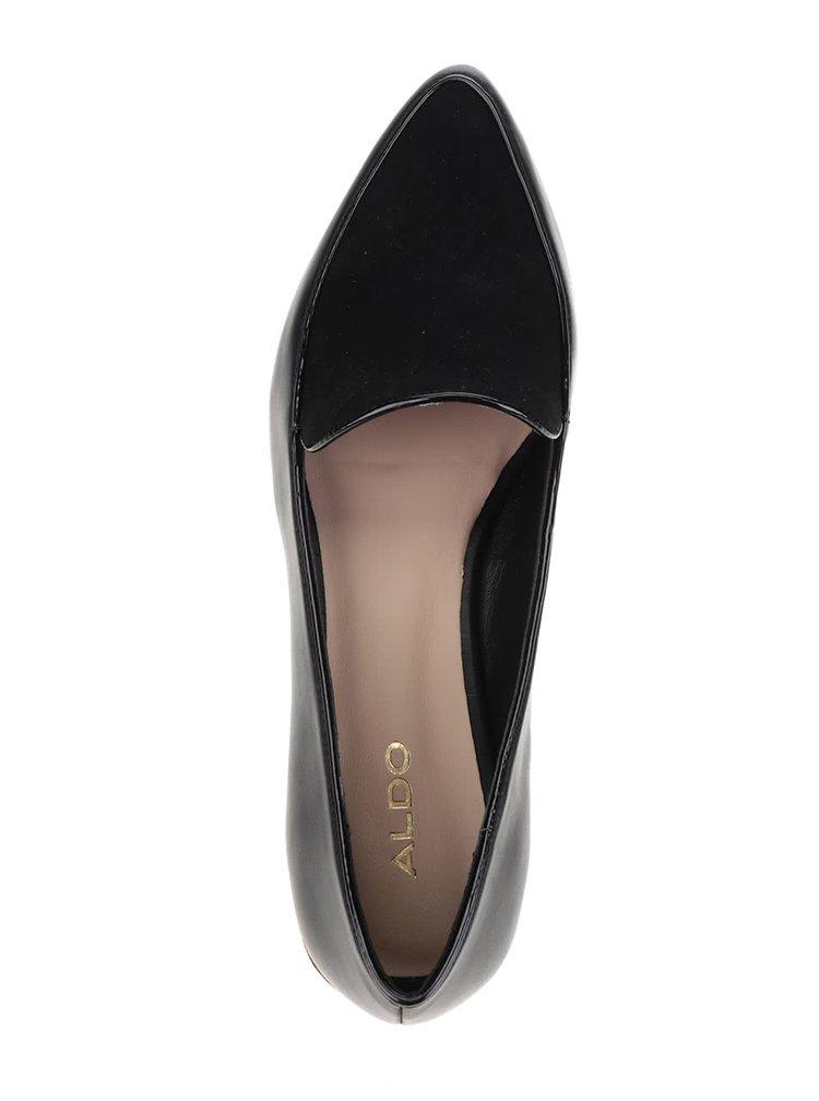 Pantofi loafer negri ALDO Abbatha