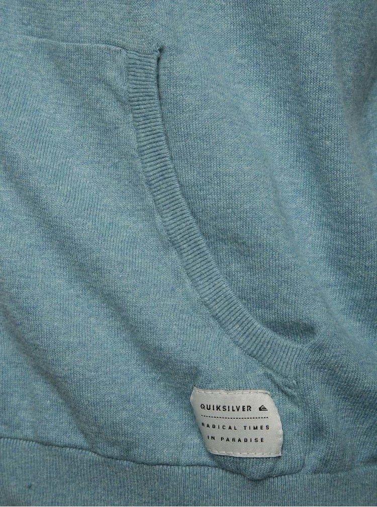 Hanorac albastru deschis melanj Quiksilver