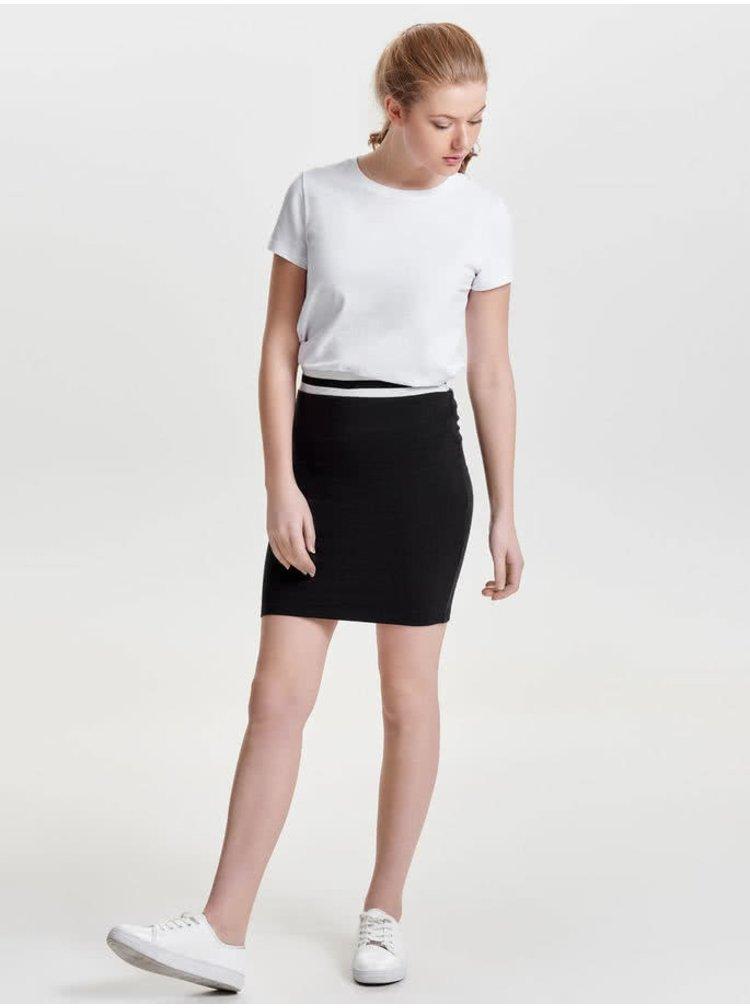 Černá pouzdrová sukně Jacqueline de Yong Dusty