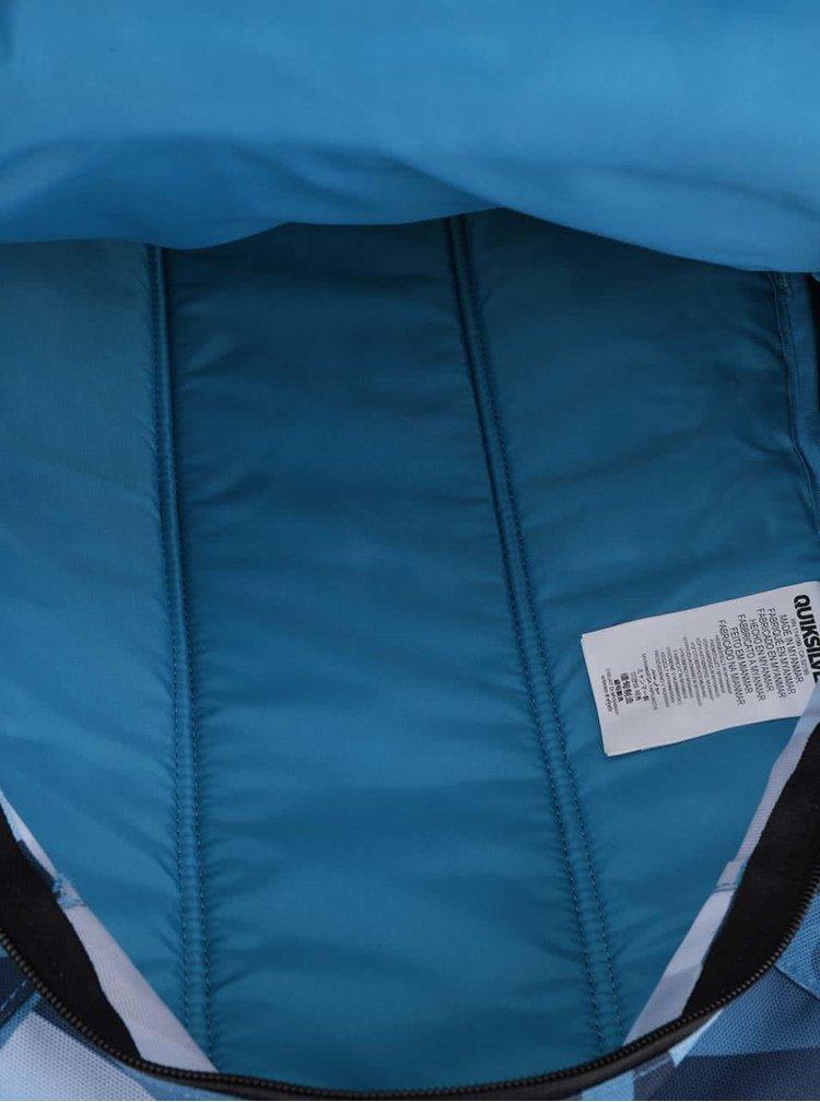 Modro-černý pánský batoh se vzorem 24 l Quiksilver