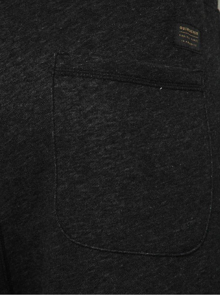 Tmavě šedé pánské tepláky Quiksilver
