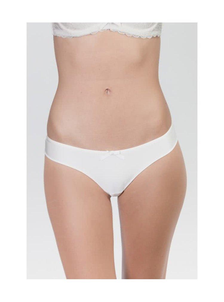 Krémové kalhotky s krajkovou zadní stranou ICÔNE Carla