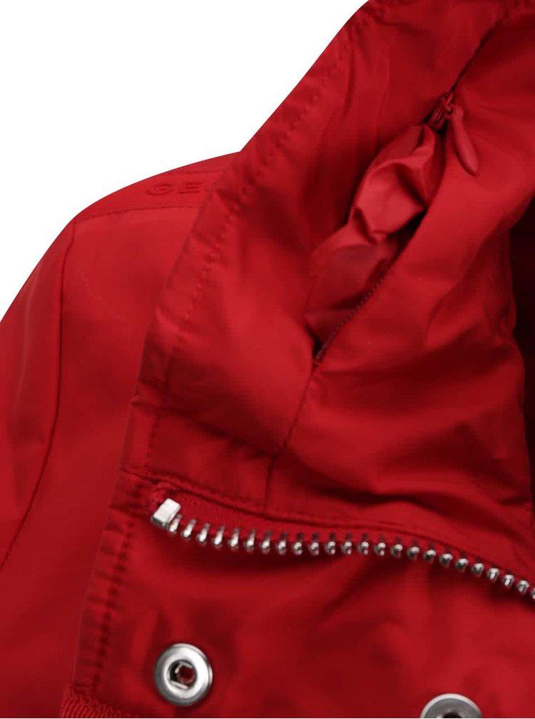 Červená dámská bunda Geox