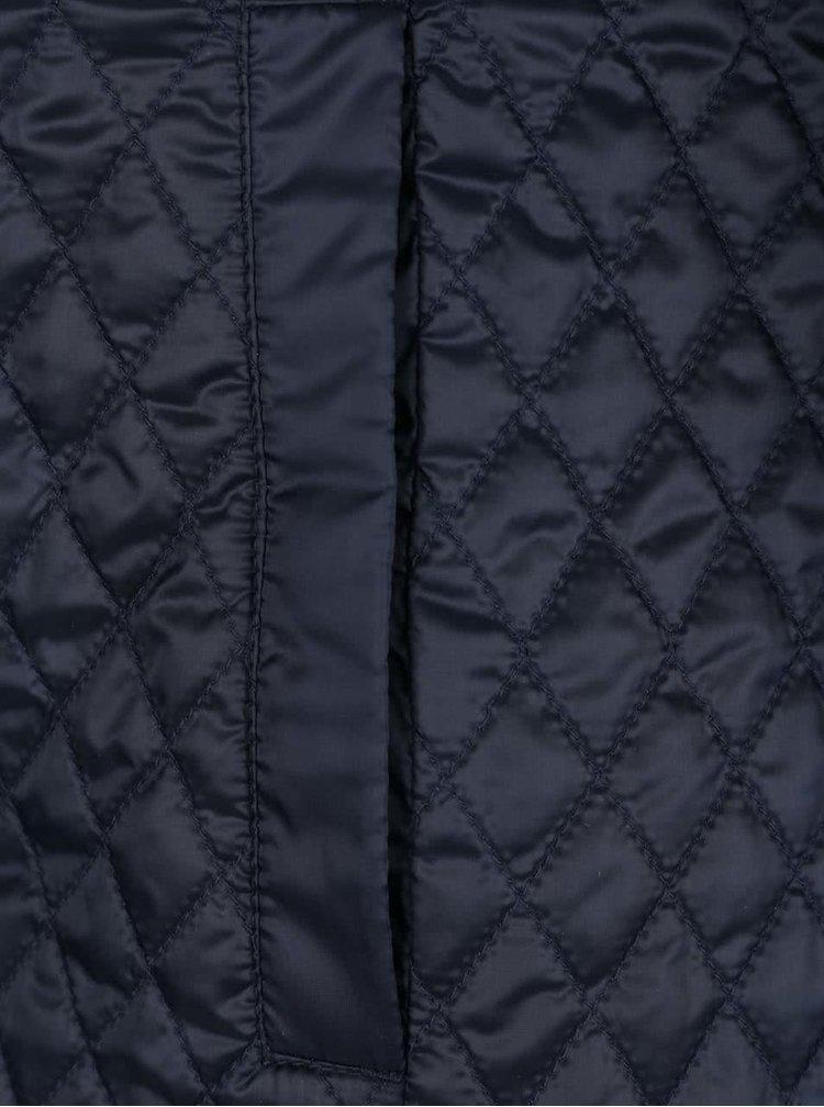 Palton matlasat impermeabil albastru inchis Geox