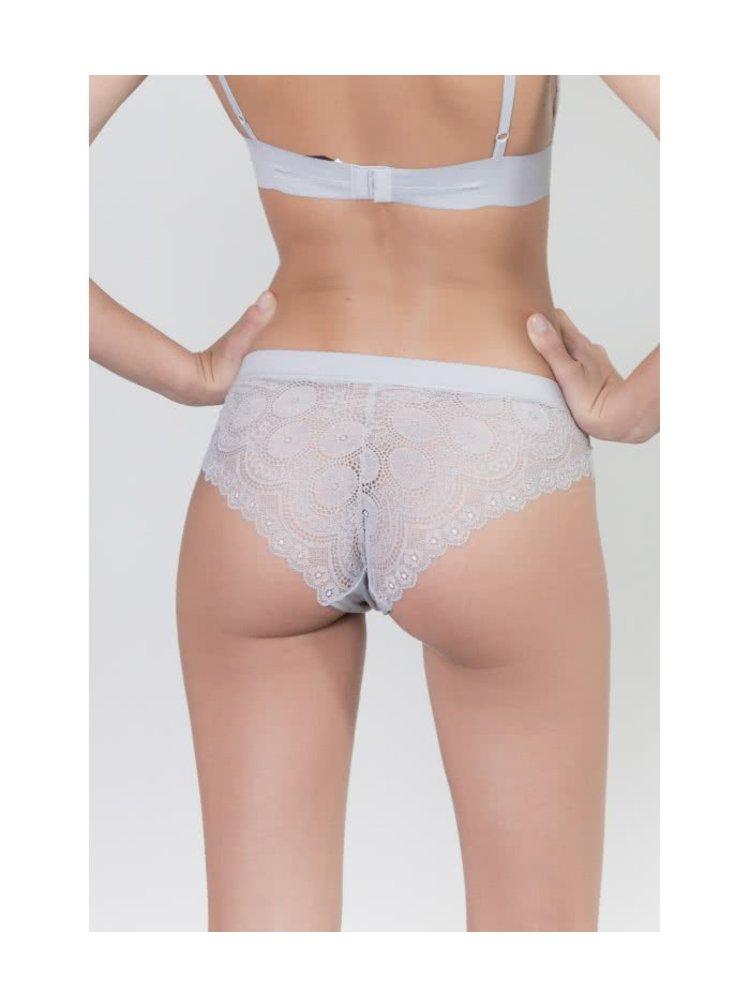Svetlosivé čipkované nohavičky  ICÔNE Cesar