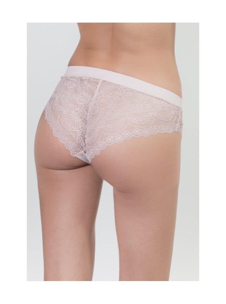 Starorůžové krajkové kalhotky ICÔNE Cesar