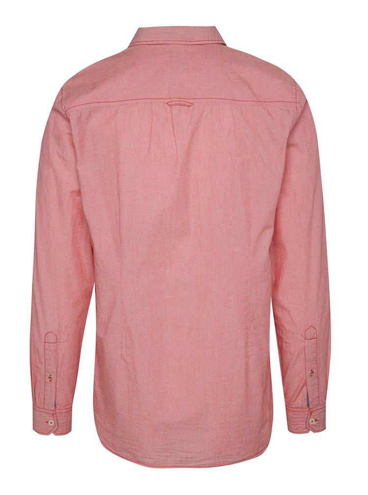 Červená pánská slim fit košile s.Oliver