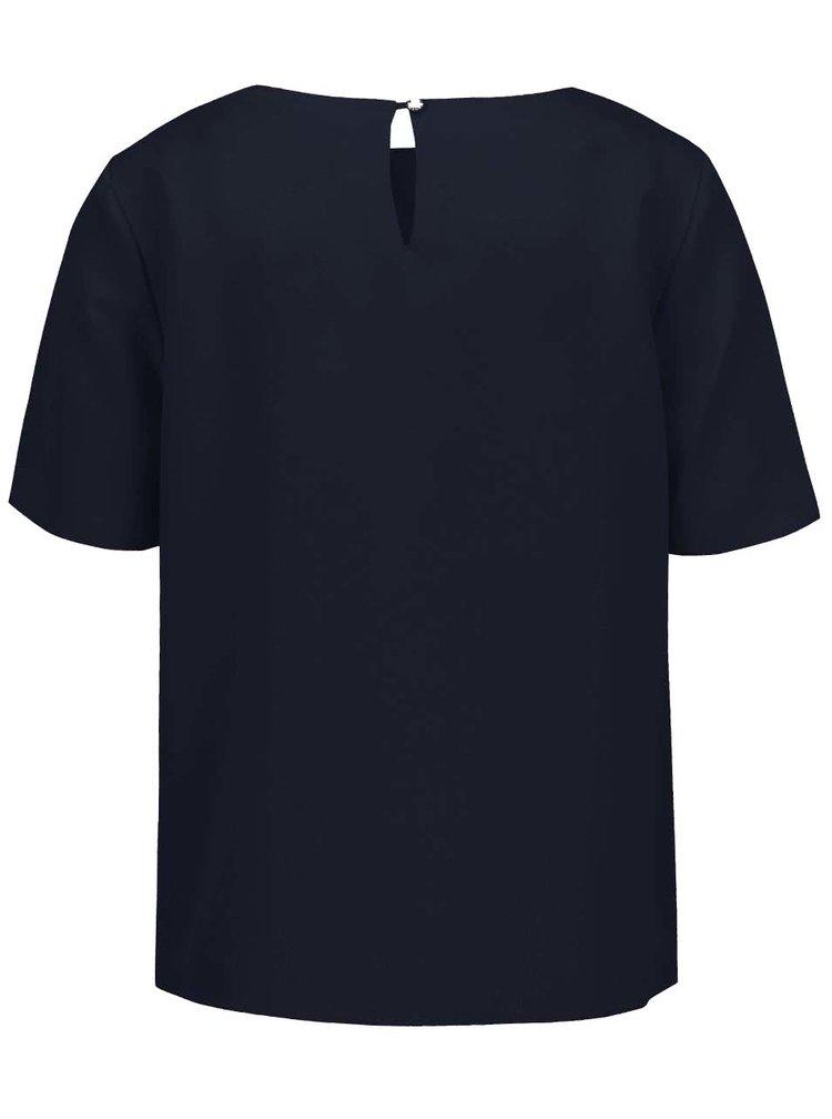 Bluză bleumarin Dorothy Perkins cu nasturi decorativi