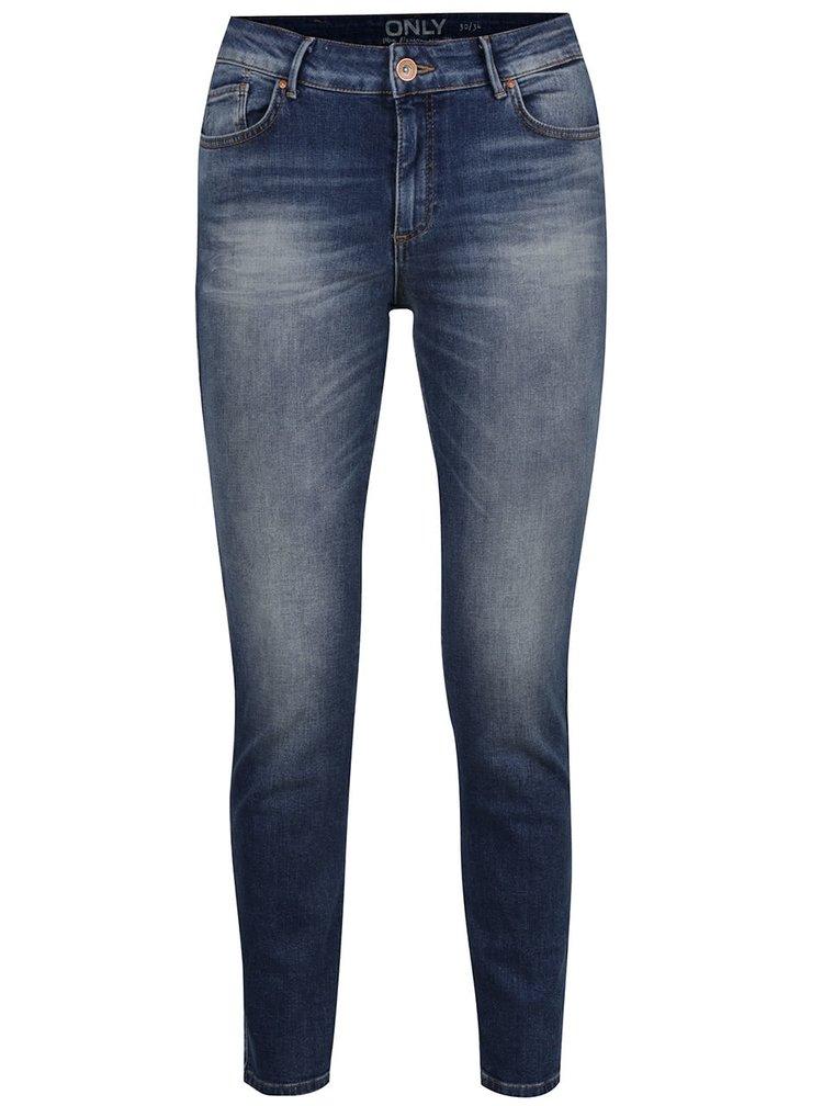 Tmavě modré skinny džíny ONLY Carmen
