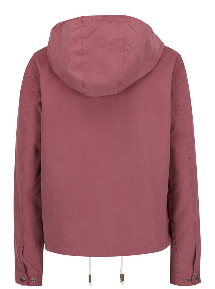 Jacheta roz inchis ONLY Skylar cu gluga