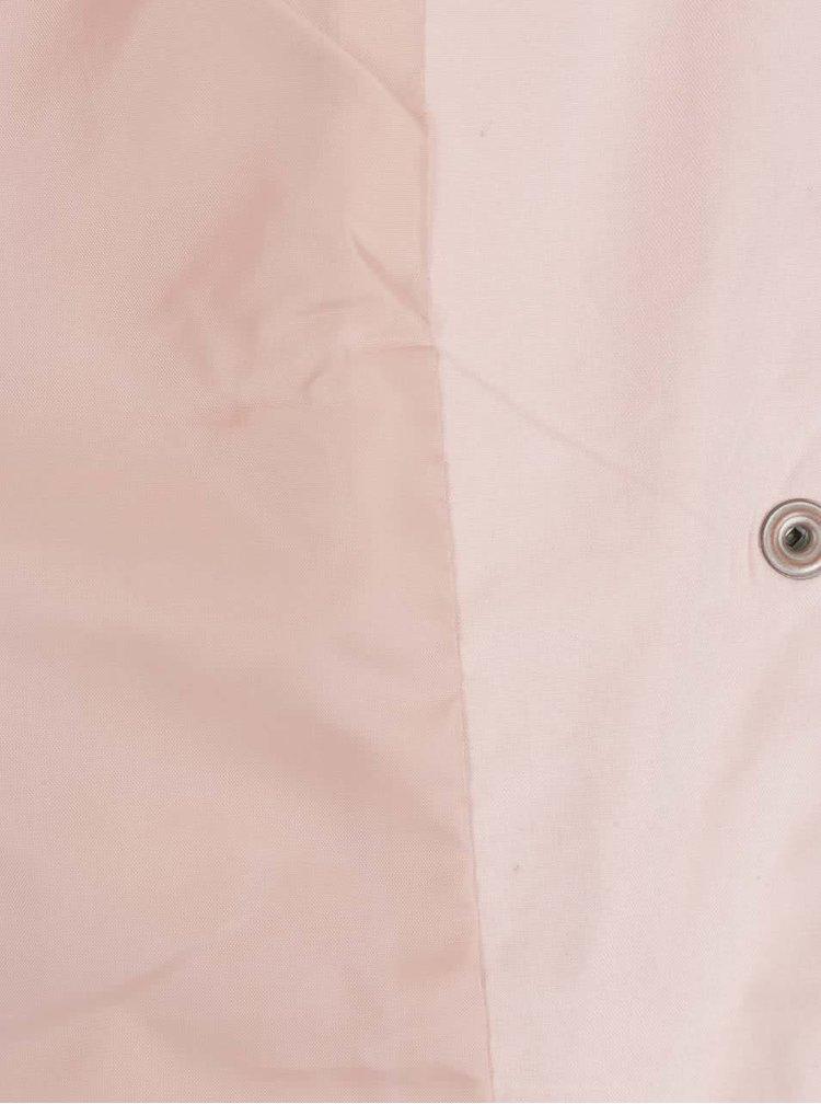 Jachetă roz pal ONLY Skylar