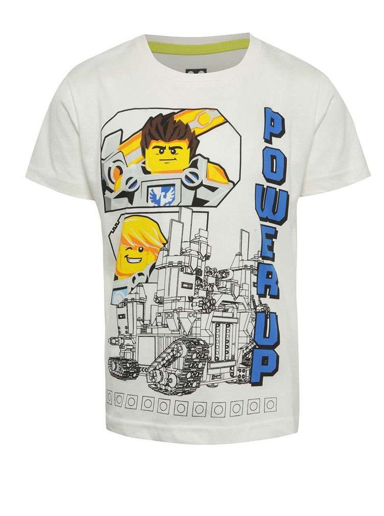 Krémové klučičí triko s potiskem LEGO Wear