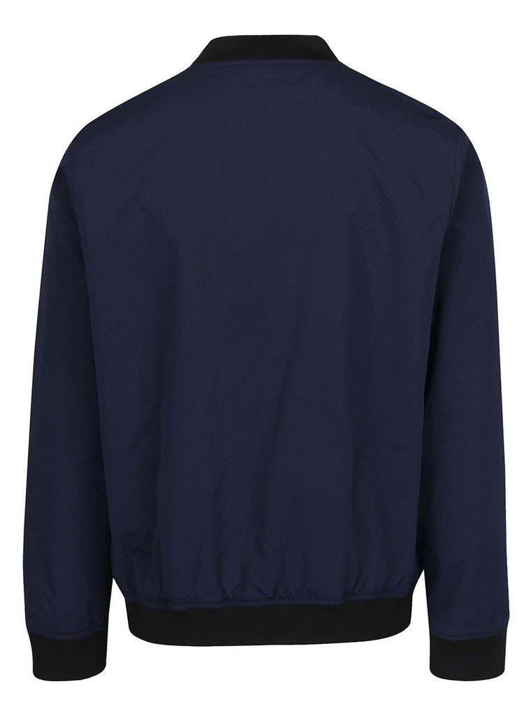 Modrý pánský bomber Burton Menswear London