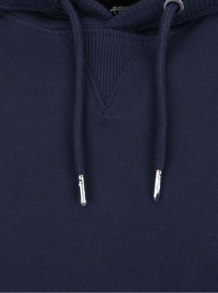 Hanorac bleumarin Burton Menswear London din bumbac
