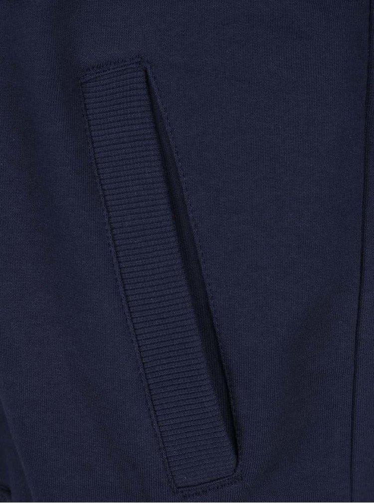 Modrá mikina s kapucí Burton Menswear London