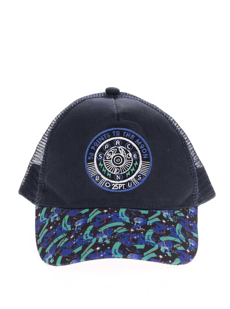 Černá klučičí kšiltovka s modrou výšivkou 5.10.15.