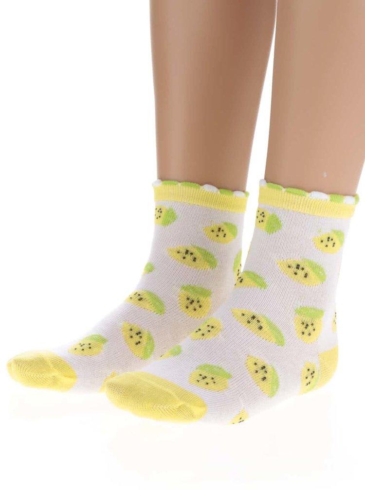 Set trei perechi de șosete cu imprimeu fructe 5.10.15 pentru fete