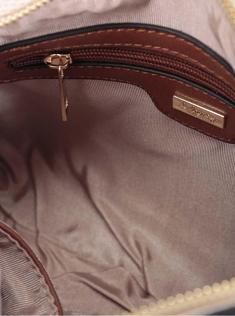 Béžová crossbody kabelka/psaníčko Liberty by Gionni Anise
