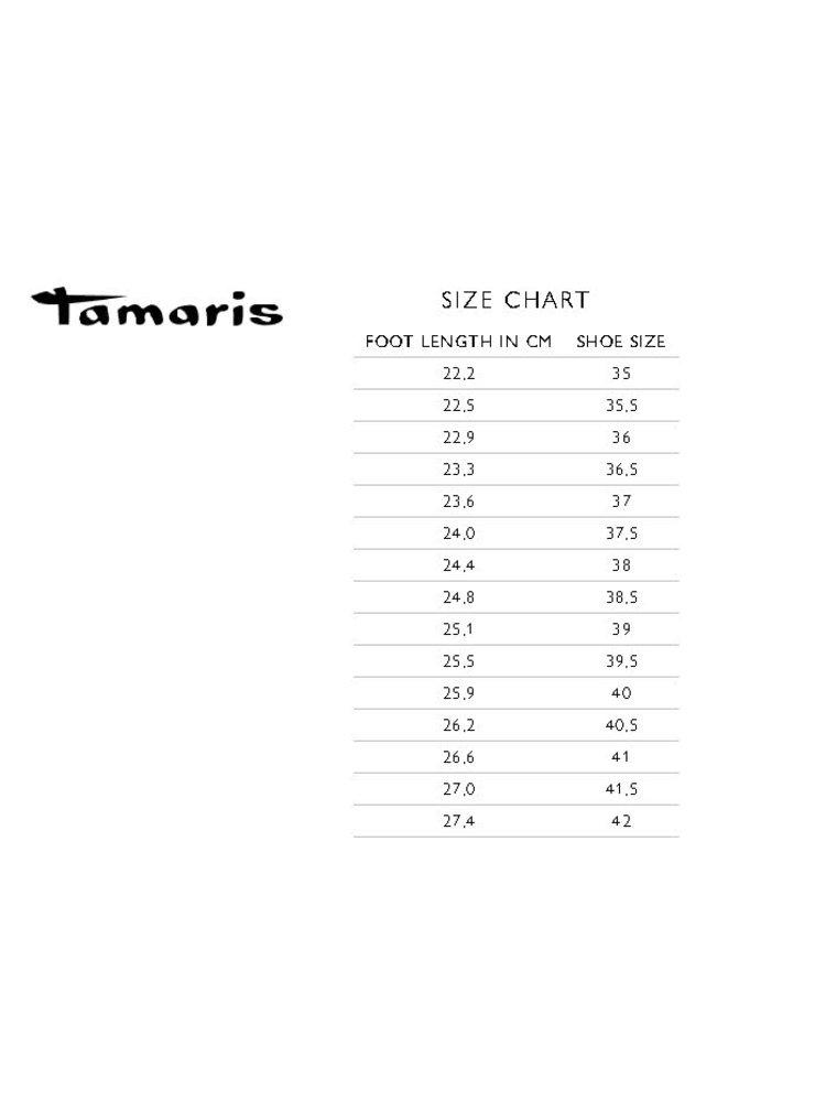 Hnědé kožené baleríny Tamaris