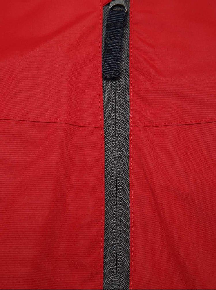 Červená klučičí bunda s kapucí 5.10.15.