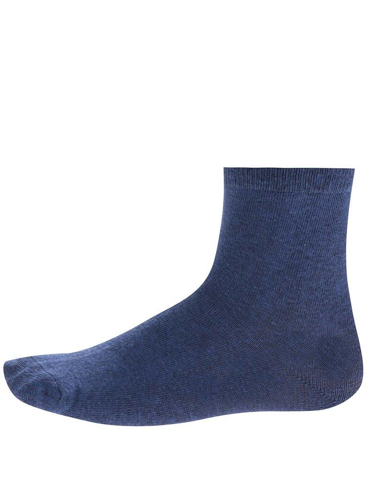 Sada tří párů klučičích ponožek v modré barvě 5.10.15.